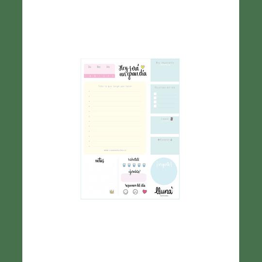 Planificador Digital Diario Amarillo