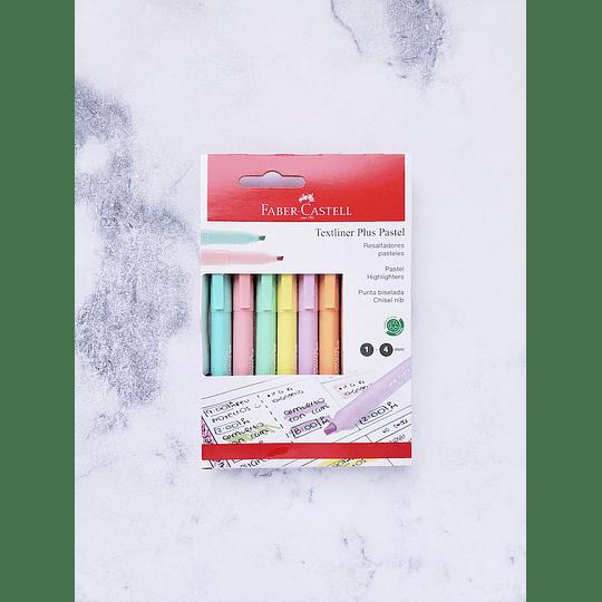 Set 6 F-Castell Textliner Pastel