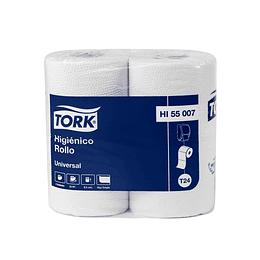 Papel Higienico Rollo H/S Tork Universal 1 Paquete de 4 Rollos de 50 MTS.