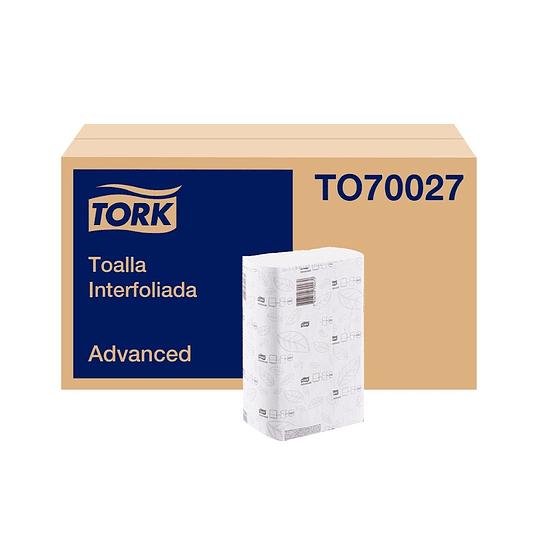Toalla Interfoliada D/H en Caja de 16 Paquetes de 200 Hojas de 21 CMS X 24 Cms. c/u.