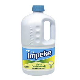 Cloro Concentrado Limón 2000 GR - Impeke.