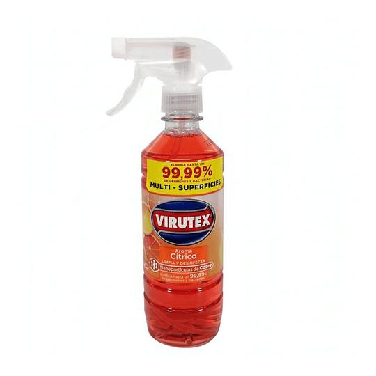 Limpiador Desinfectante Cítrico 500 ML Gatillo Virutex.