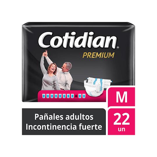 Pañales de Adultos Cotidian Premium M X22