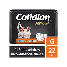 Pañales de Adultos Cotidian Premium G X 22.