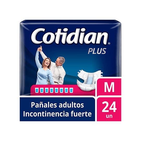 Pañales de Adultos Cotidian Plus M X 24.