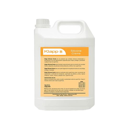 Silicona Crema Bidón de 5 Litros.