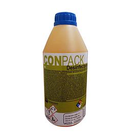 Desinfectante Conpack Plus Base Amonio Cuaternario 1 Litro.