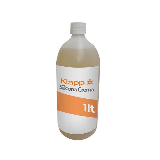 Silicona Crema Botella 1 Litro.