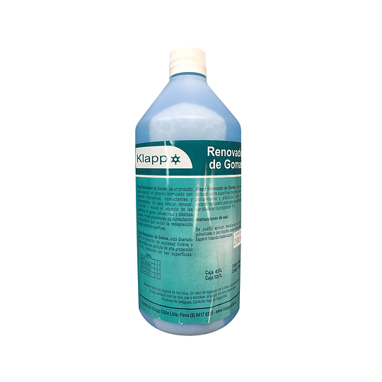 Renovador de Gomas Botella 1 Litro.