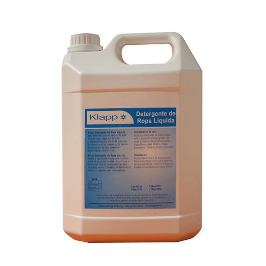 Detergente de Ropa Liquido Bidón de 5 Litros