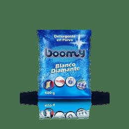 Detergente en Polvo Boomy Blanco Diamante 400 gr