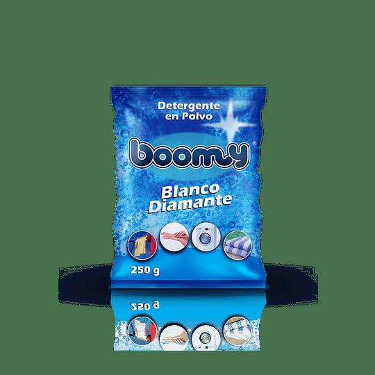 Detergente en Polvo Boomy Blanco Diamante 250 gr