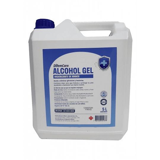 Alcohol Gel Bidon de 5 Litros