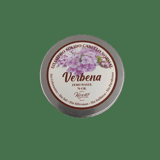 Shampoo Solido Cabello Normal Verbena 76 Gramos.