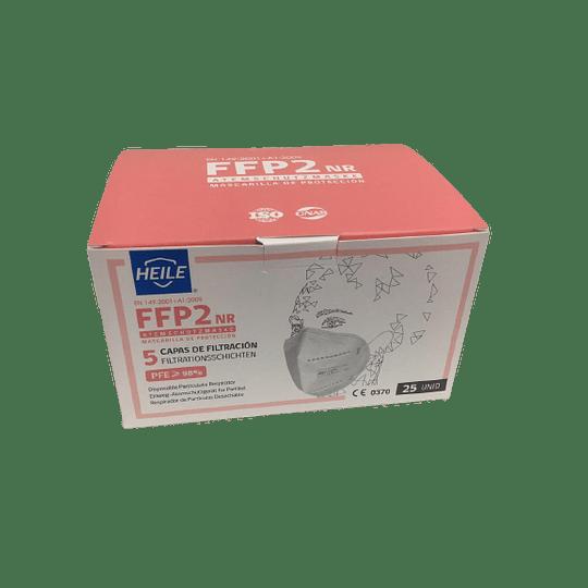 Caja de Mascarillas de Proteccion FFP2 NR,  25 Unidades