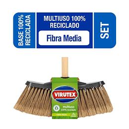 Escobillón 100% Reciclado Económico - Virutex Pro