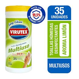 Toalla Desinfectantes Multiuso 35U - Easy Clean