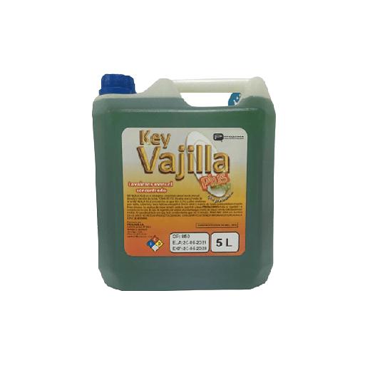 Key Vajilla Plus Lavaloza 5 Litros - Proquimia