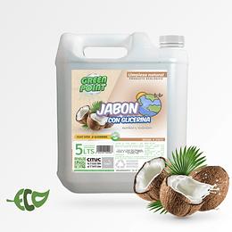 Jabon Glicerina Coco Bidon de 5 Litros ECOLOGICO