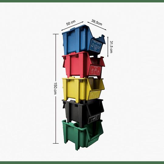 Set Contenedores Reciclaje