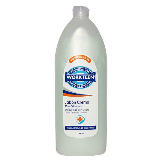Jabón en Crema Cu en Botella de 1000ML