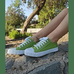 Zapatillas de Lona color Verde