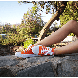 Zapatillas de Lona color Naranja