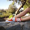 Zapatillas de Lona color Naranja
