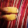 Sandalia Mujer Cuero Halcon Amarillo  (36, 37, 39, 40)