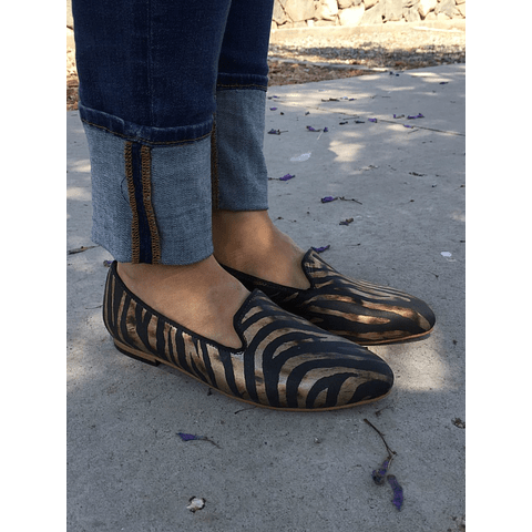 Paloma Striped Moccasin Woman (Größe 35)