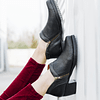 Woman Ankle Boots Hazel Black (37)