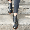 Ankle Boot Woman Leather Peumo Black Foal (35, 36, 37)