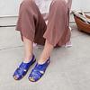 Sandalia Mujer Cuero Halcon Azul Folia (35, 36, 37, 39, 40)