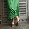 Black Swan Leather Woman Sandal (35 to 40)