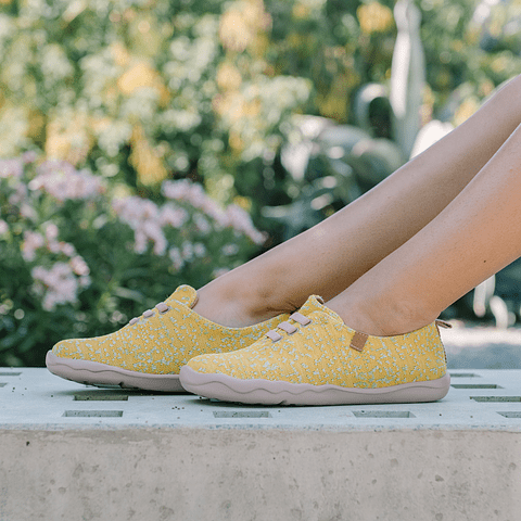 Sneaker Moguer Knit Yellow
