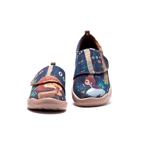 UIN Shoes Toledo Kid Cowardly Lion Boys Sneaker (29 to 34)