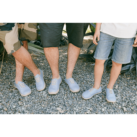 UIN Shoes Moguer Sky Blue Zapatilla Niños (29, 31, 33, 34)