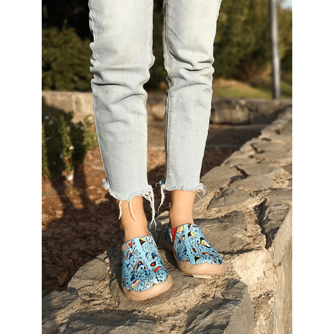 UIN Shoes Toledo Blue Ocean (35, 36, 39)