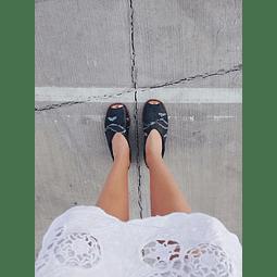 Sandalia Mujer Cuero Cisne Negro (35 ,36, 37, 40)