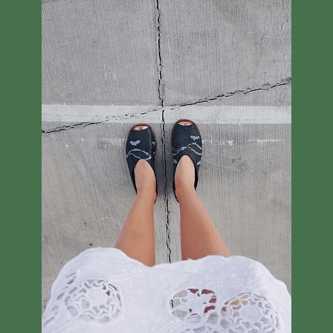 Sandalia Mujer Cuero Cisne Negro (35 ,36, 40)