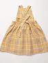 Sale Nellie Quats, Delantal Conkers - Hay Plaid Linen