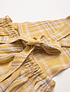 Delantal Conkers - Hay Plaid Linen