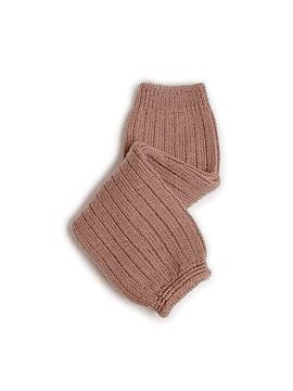 Hélène - Polainas de canalé en lana merino - Praline de Lyon