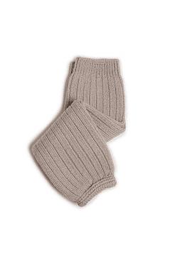 Hélène - Polainas de canalé de lana merino - Rainy Day