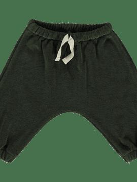Pantalón Cannelle, felpa, Forest Green