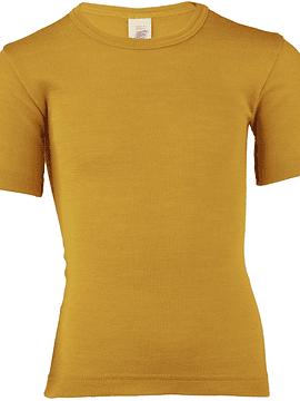 Camiseta-polera lana Merino y Seda, Engel