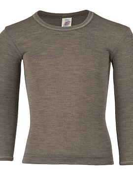 Camiseta manga larga Lana Merino y Seda, Engel