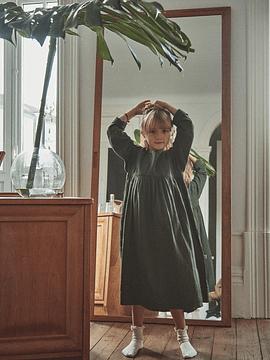 Vestido Liseron, Forest Green