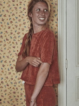 Polera Marjolaine Mujer,  esponja Autumnal
