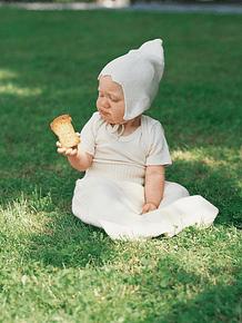 Capota 100% seda, para RN hasta 2 años.